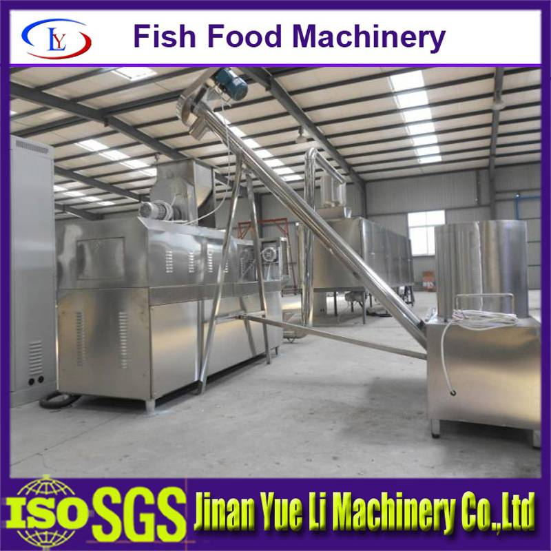 Fish Food Machine/Floating and Sinking Fish Food Machines/Fish Feed Processing Machines