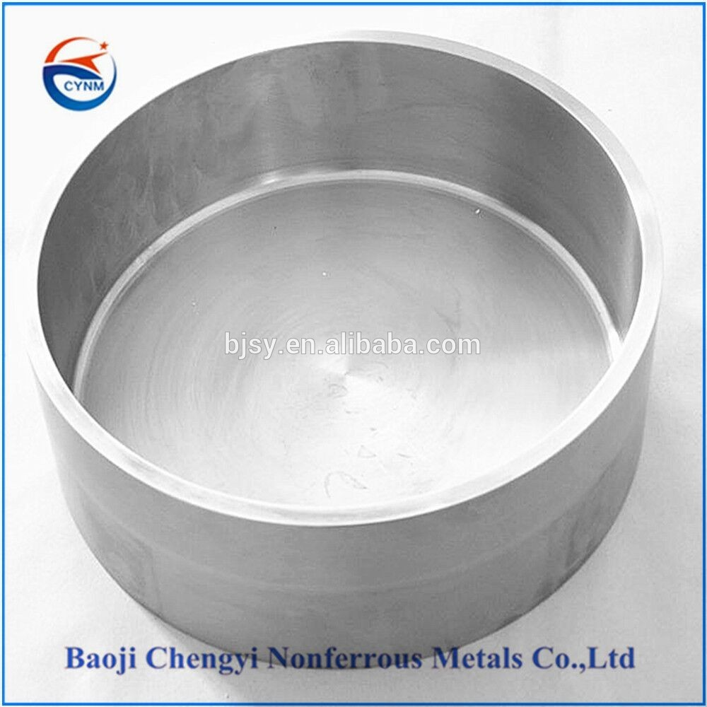 Manufacturer of tungsten crucible used in sapphire growth furnace