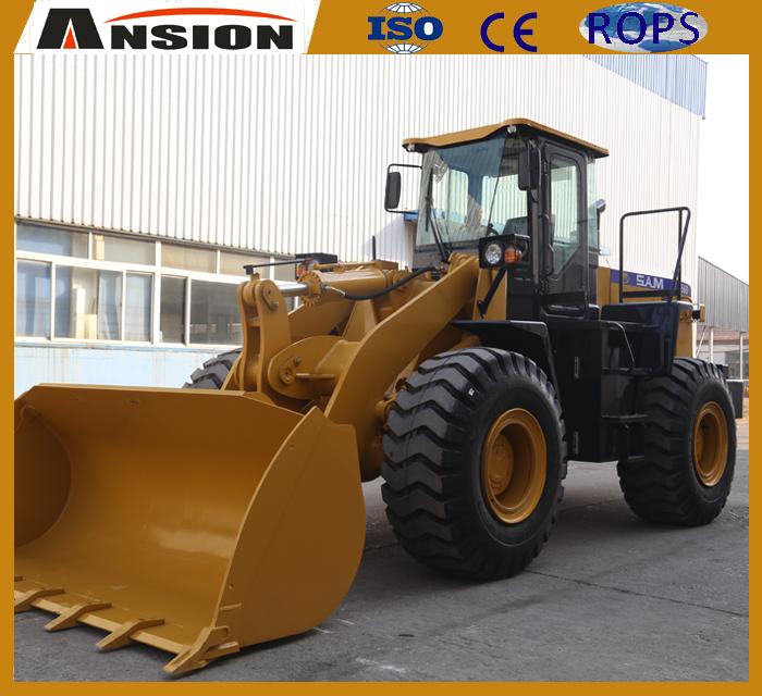 SAM956D 5ton Front end wheel loader for construction
