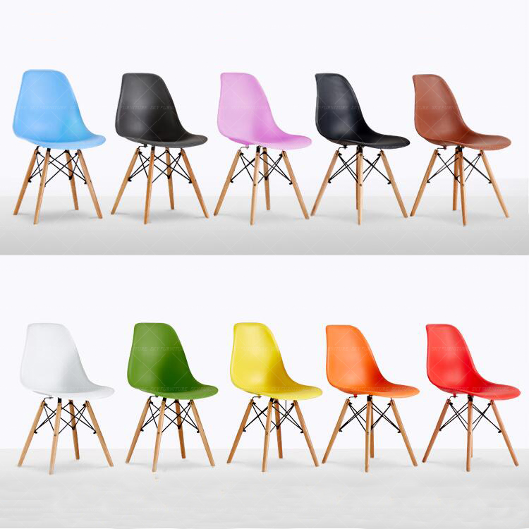 pp plastic emes chair, dining chair modern