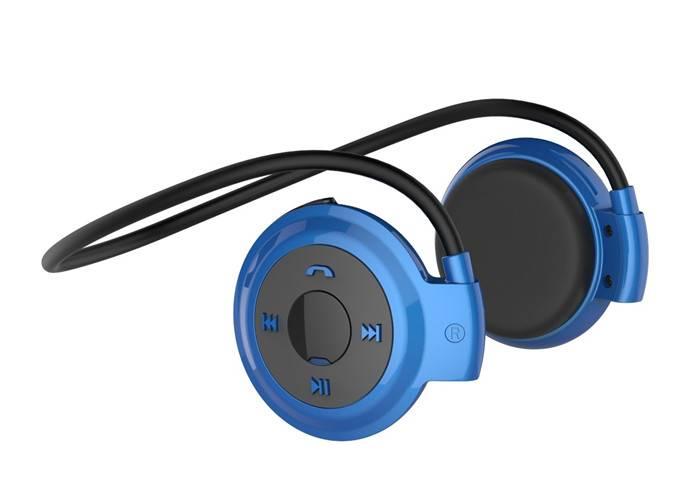 Smallest wireless waterproof bluetooth neckband headset for sport Mini 503, wireless stereo bluetoot