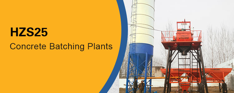 25m3 concrete batching plant