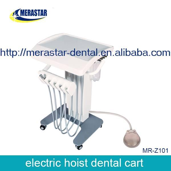 dental equipment dental instrument electric mobile dental cart