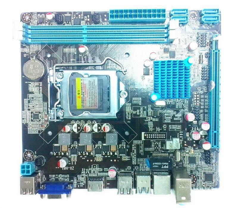motherboard H81 socket/LGA1150 DDR3 supporting FOUTH generation intel i3/i5/i7 cpu OEM