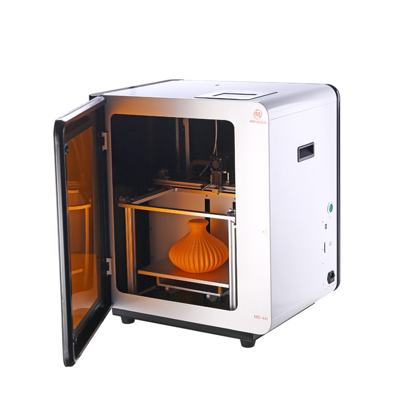 MINGDA MD-4H Industrial 3D Printer Machine for Plastic Prototypes Linear guide rails