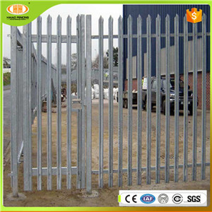 2016 Hot Sale Cheap High Security Steel Palisade Fencing,Second Hand Palisade Fencing for Sale with