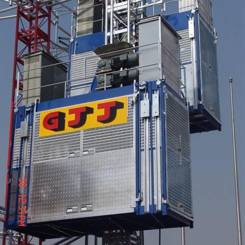 VFD construction hoist