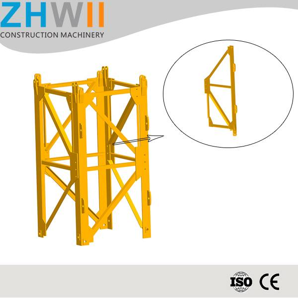 Hot sale stain steel chip Chinese mast section for tower crane