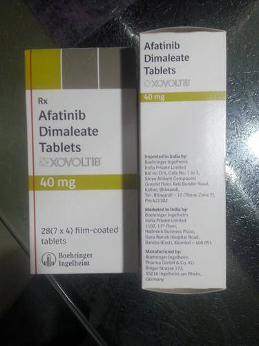 Afatinib 20, 30, 40,50mg tablet