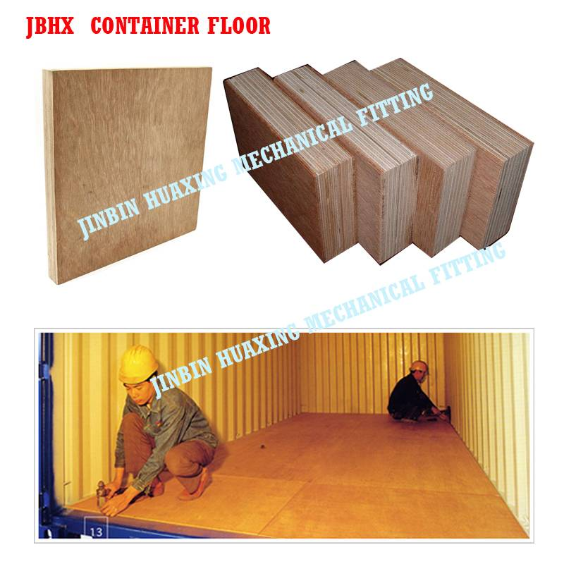 Truck floor board, shipping container plywood