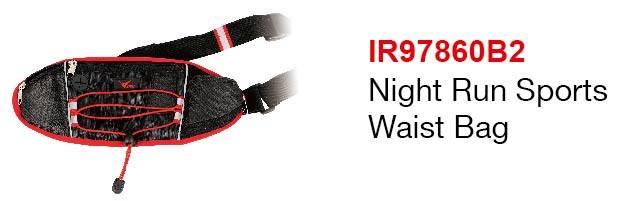 Night Run Sports Waist Bag