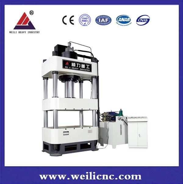 Four-pillar Hydraulic machine YW32-400TA