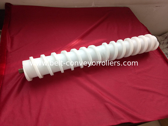 Abrasion Resistance Spiral Conveyor Rollers UHMW-PE Conveyor Belt Tracking Devices