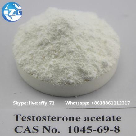 Steroid hormone powder Testosterone acetate for bodybuilding