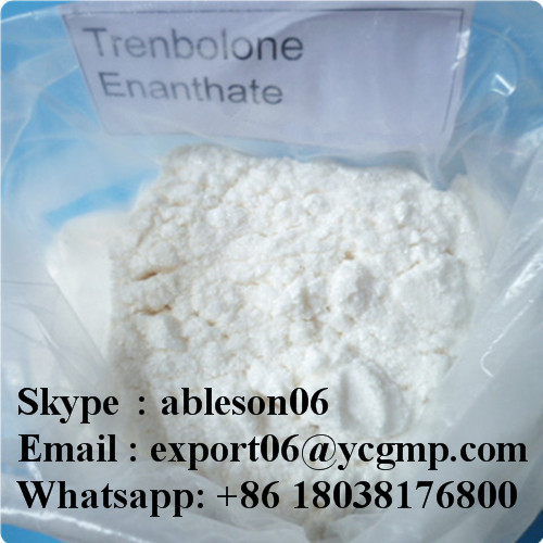 Muscle Growth Yellow Steroids Powder Trenbolone Enanthate / Tren E