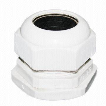 Connector Terminal/PG21 Plastic Gland Connector, Suitable for 13 to 18mm Cable