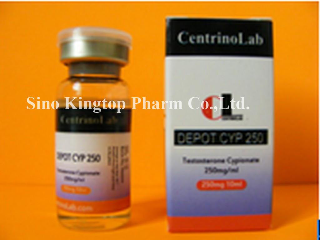 Testosterone Cypionate (Depot Cyp 250)  (250mg/ml,10ml/bottle)
