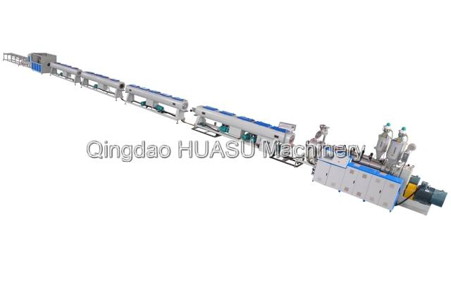 PE Communication Pipe Extrusion Line