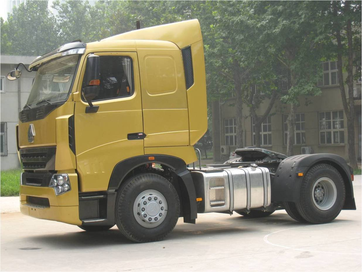 Sinotruck Howo A7 42 single axle 420hp Tractor Truck