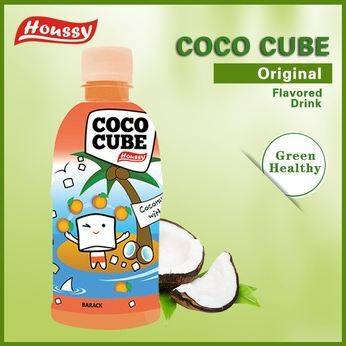 Houssy high standard coconut water drink with pulp