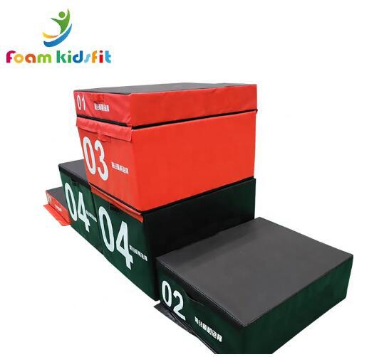 soft plyometric box jump box/ plyo box