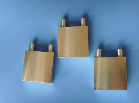 Cooling water plates for thermoelectric modules