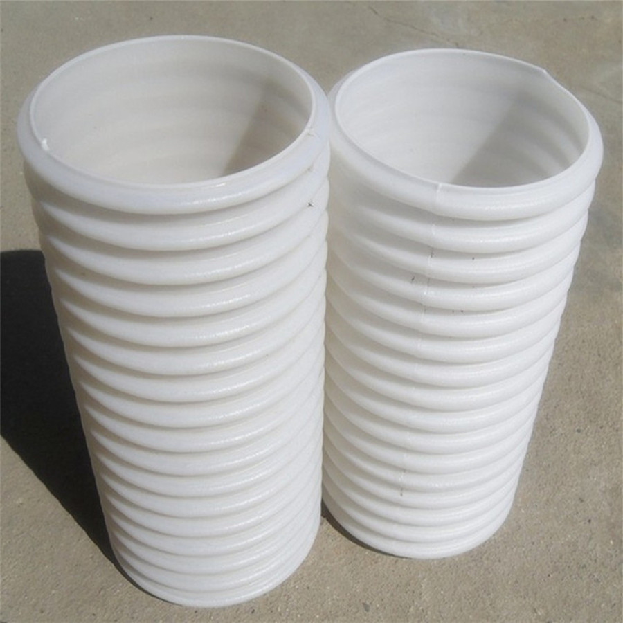 Hot Sales HDPE Double Wall Corrugated Pipe for Communications Wire