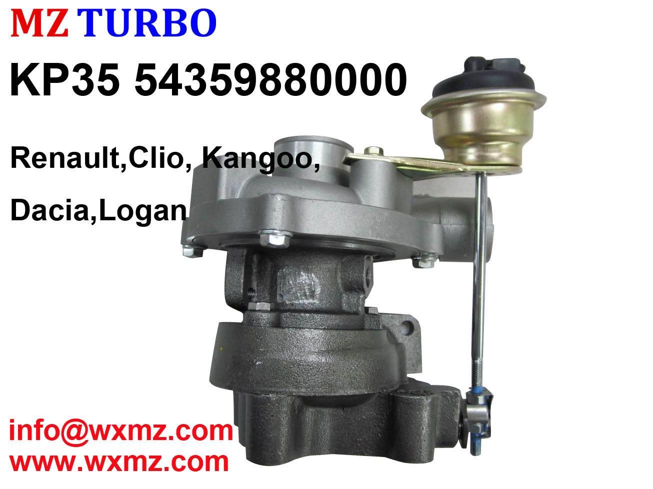 KP35 54359880000 Turbocharger suit for Renault, Clio, Kangoo, Dacia, Logan