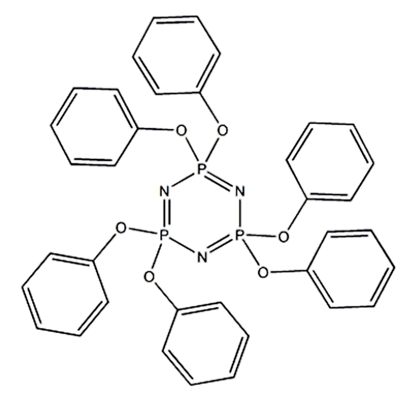 HPCTP, Phenoxy cyclophosphazene, CAS no. 1184-10-7