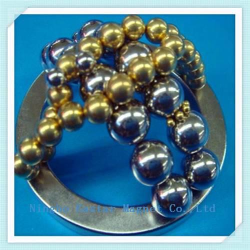 Necklace Bead Neodymium Magnet for Health Care