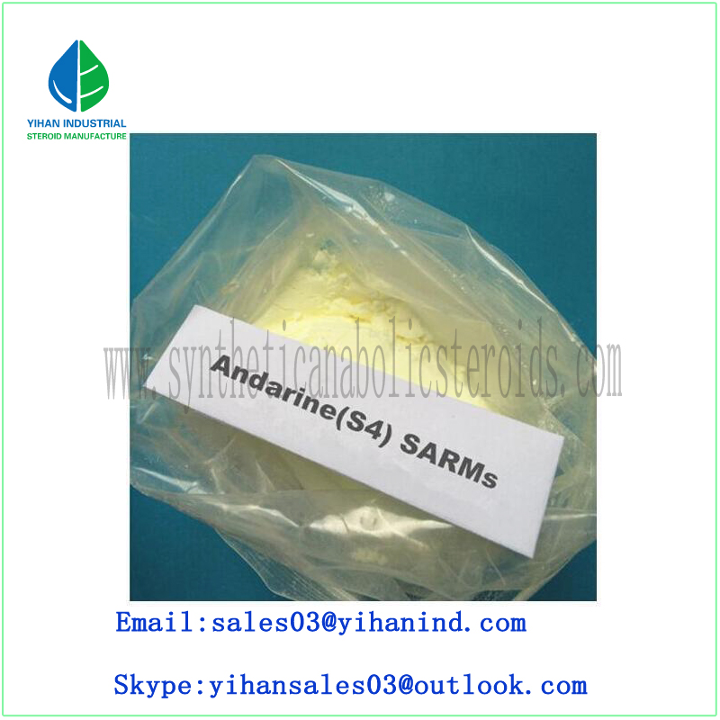 High Quality Raw Sarms Powder Andarine S4/Gtx-007/Acetamidoxolutamide Bodybuilding 401900-40-1 Iris