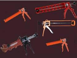 SILICONE AND EPOXY CAULKING GUNS