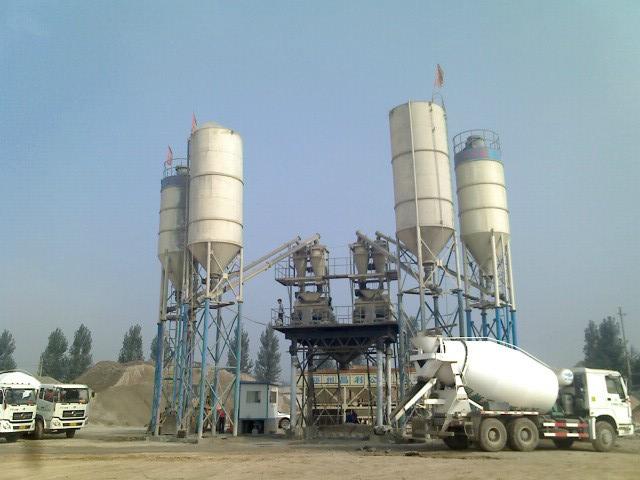 HZS50 Small Concrete Mixing Plant