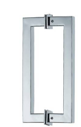 square d type shower door handles