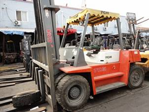 7ton used forklift for sale made japan