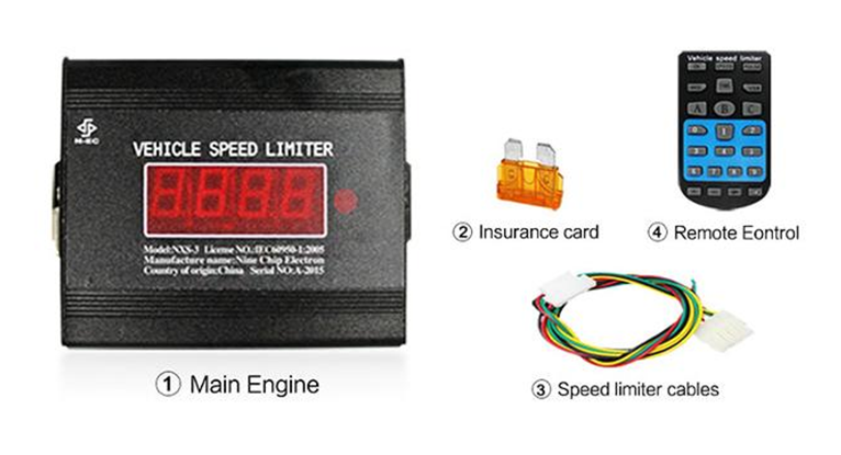 Newest best seller Car Speed Limiter with gps tracker, vehicle speed limiter, electronic speed contr