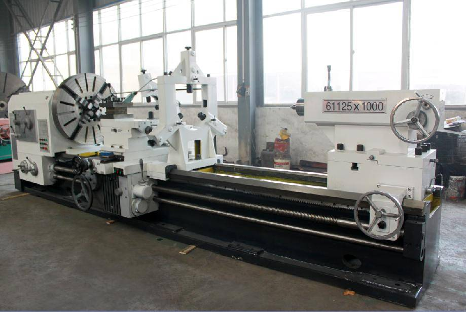 steel cutting tool heavy equipment horizontal lathe machine CW61125