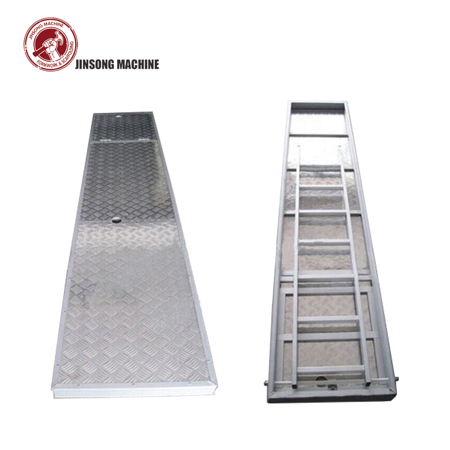 Aluminium Plywood Scaffolding Plank Decking With Trapdoor