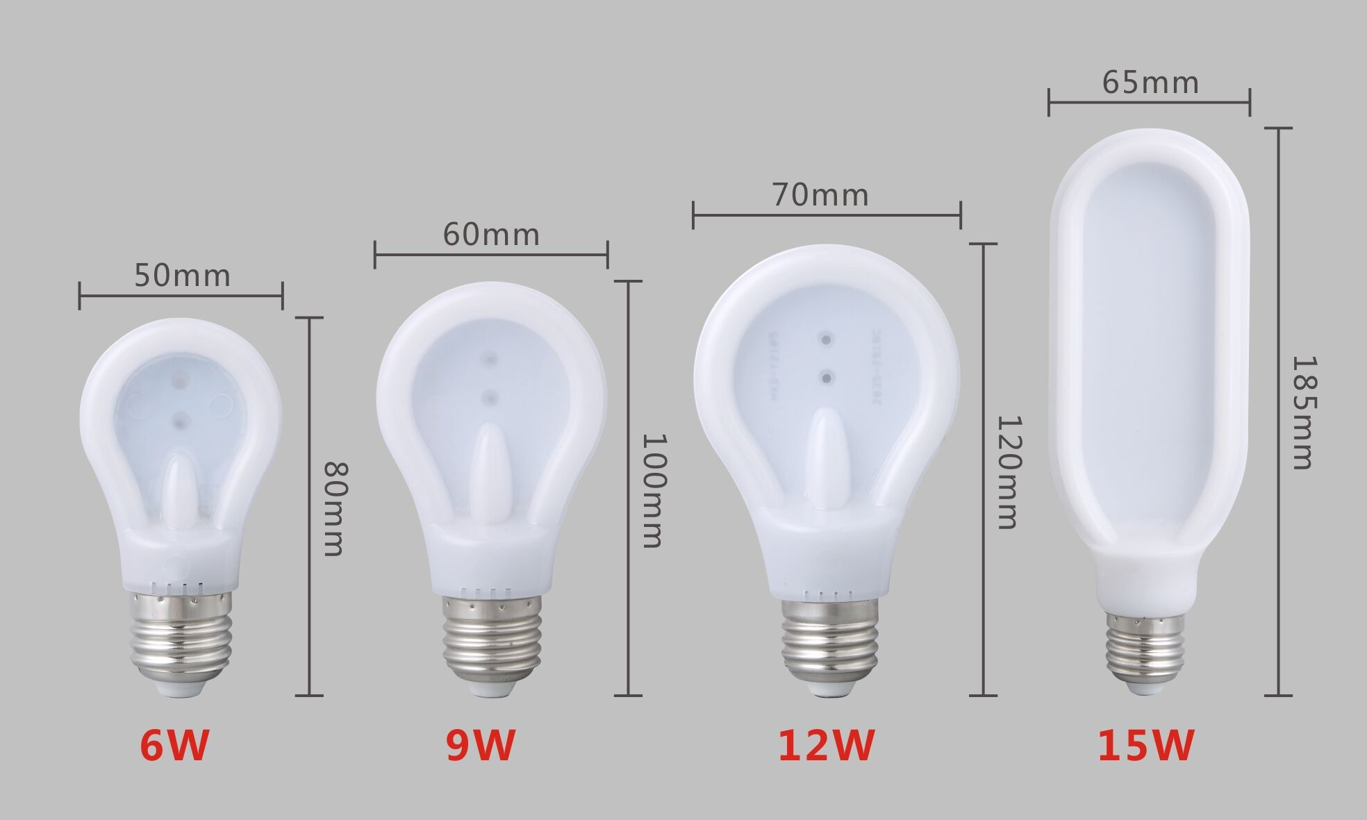 100-265V LED slim light 6w 9w 12w 18w, 360°lighting around, passed CE and RoHs certification