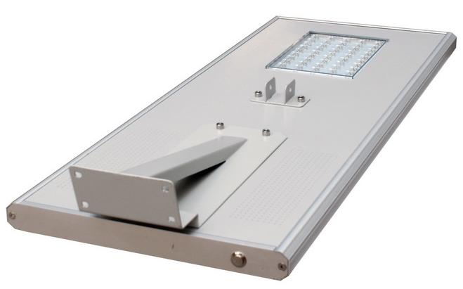 High Power Wireless 60w All In One LED Solar Street Light Waterproof