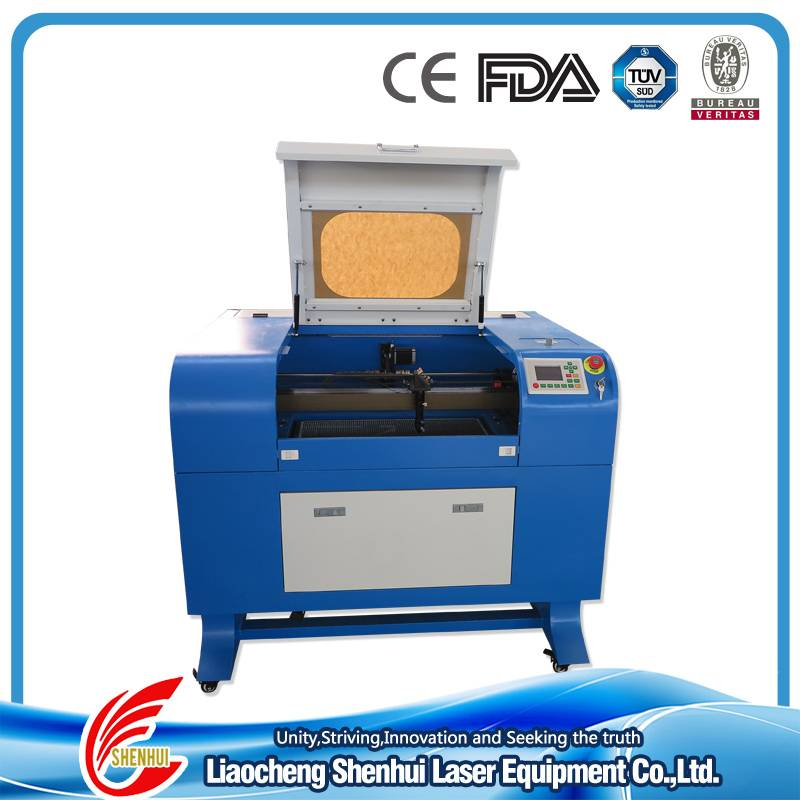 Acrylic/Wood/MDF/Plastic Non-metal Mini CO2 Laser Engarving and Cutting Machine for