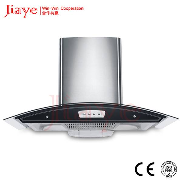 Boat-shap filter range hood for building apartment/900mm S.S kitchen hood JY-HC9001
