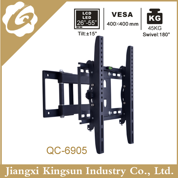 Amazing Tv wall mount bracket with angle adjustable for size 14-42''(YT-6905)