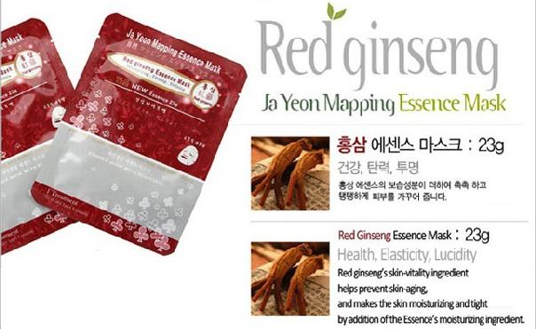 Red ginseng Essence Mask 23g, Face Mask, Mask pack