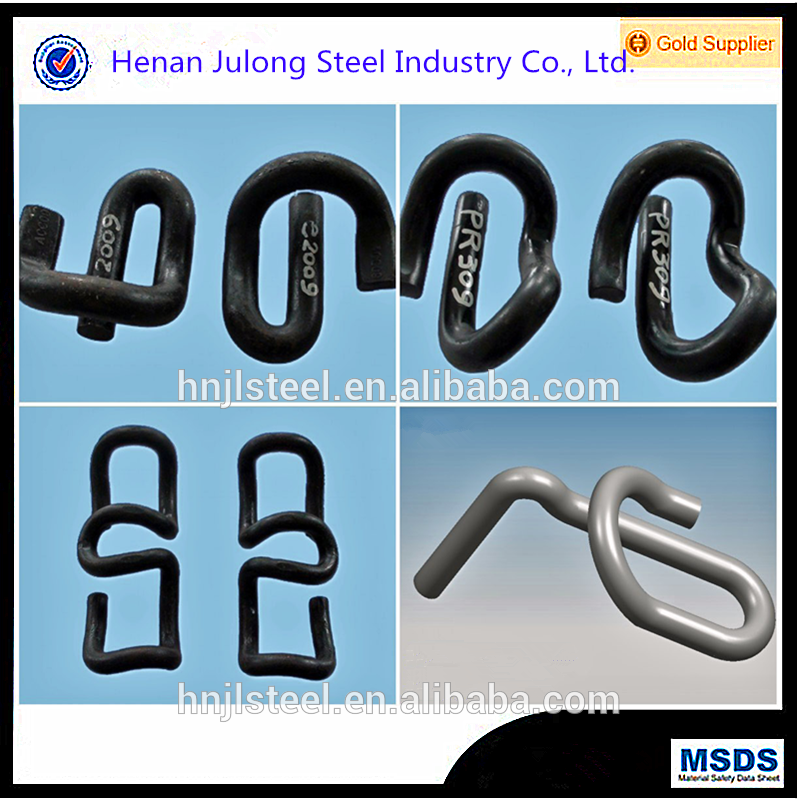 China supplier railway parts rail fastener rail clips