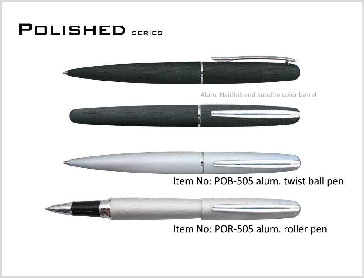 Polished series pens