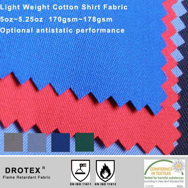 BTTG Certificate Flame Retardant Cotton Fabric