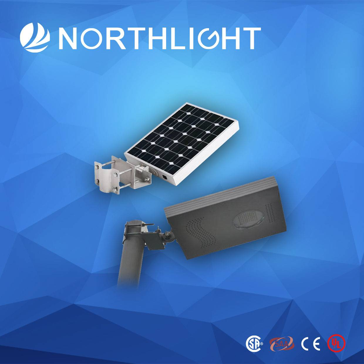 Hot Sale Integrated Solar 25W LED Street Light (with Motion Sensor)