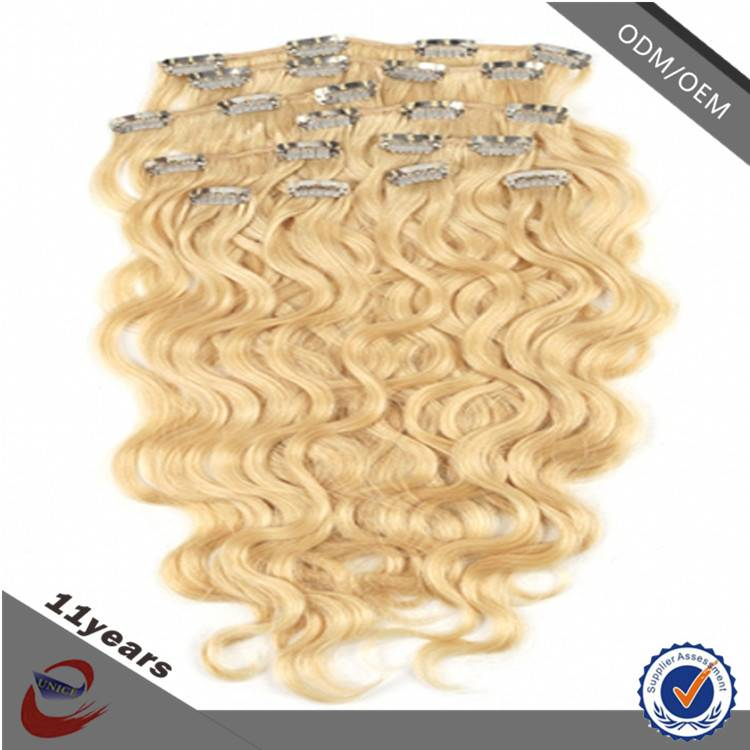Alibaba Express Hair Extension Wet and Wavy Clip in Hair Extensions for Black Woman