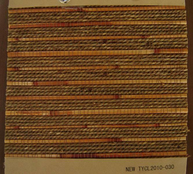 Chinese reed hemp mixed woven window curtain